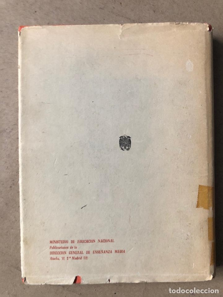 Libros de segunda mano: LA ENSEÑANZA DE LAS LENGUAS CLÁSICAS. MINISTERIO DE EDUCACIÓN NACIONAL 1963. GUÍAS DIDÁCTICAS - Foto 7 - 210216342