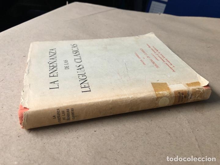 Libros de segunda mano: LA ENSEÑANZA DE LAS LENGUAS CLÁSICAS. MINISTERIO DE EDUCACIÓN NACIONAL 1963. GUÍAS DIDÁCTICAS - Foto 8 - 210216342