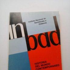 Libros de segunda mano: INBAD - HISTORIA DEL MUNDO CONTEMPORANEO DOCUMENTO 2 - COU. Lote 210216565