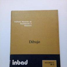 Libros de segunda mano: INBAD - DIBUJO - BUP 1º CURSO. Lote 210216736