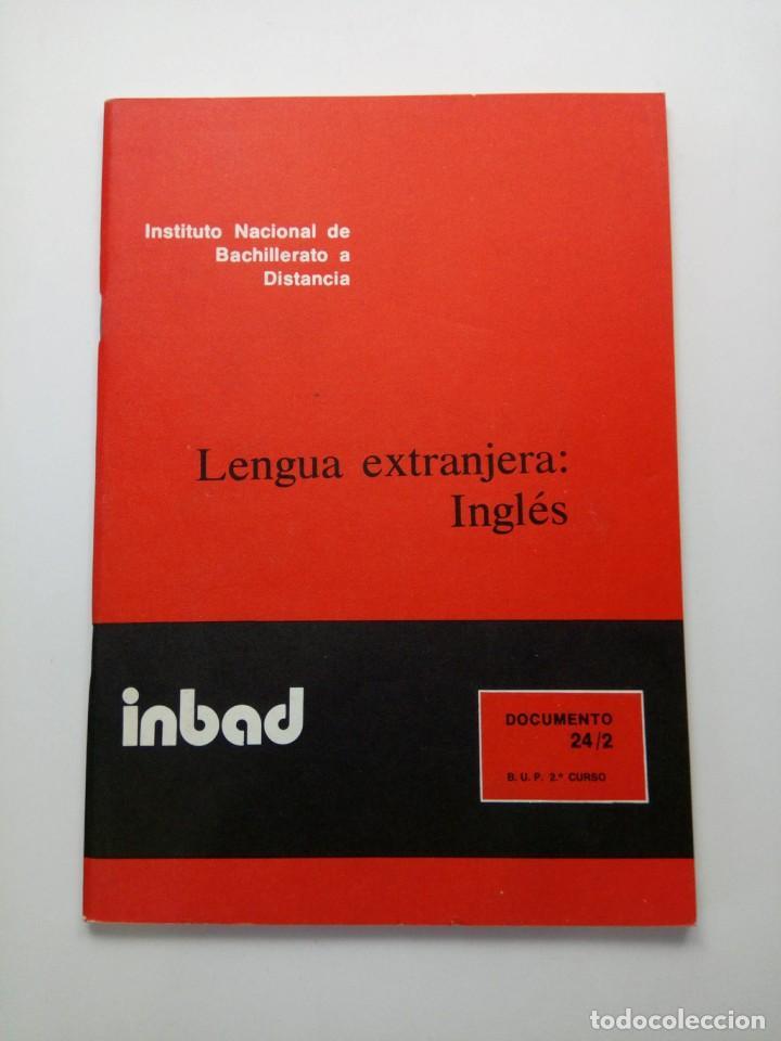 INBAD - LENGUA EXTRANJERA - INGLÉS - BUP 2º CURSO (Libros de Segunda Mano - Libros de Texto )