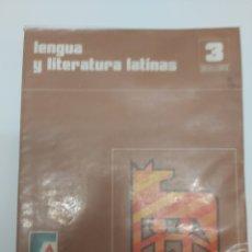 Livros em segunda mão: LENGUA Y LITERATURA LATINAS 3° DE BACHILLERATO EDITORIAL SANTILLANA. Lote 211870637