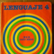 Libros de segunda mano: LENGUAJE 4 / EGB CICLO MEDIO (SANTILLANA, 1987). ANTONIO RAMOS, JESÚS GABÁN, ETC.. Lote 211981245