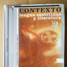 Libros de segunda mano: CONTEXTO LENGUA CASTELLANA Y LITERATURA 2: BACHILLERATO (SM, 2005), POR ANDRÉS AMORÓS.... Lote 211981642