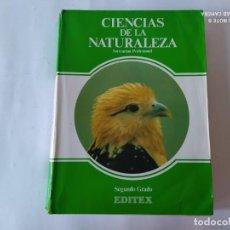 Libros de segunda mano: CIENCIAS DE LA NATURALEZA FP, EDITEX, 1985. Lote 212004635