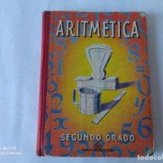 Libros de segunda mano: ARITMETICA 2º GRADO, LUIS VIVES 1958. Lote 212007281
