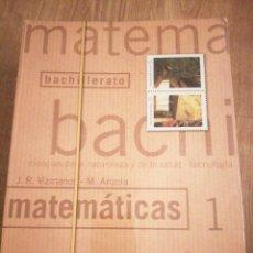 Livros em segunda mão: MATEMATICAS 1 BACHILLERATO. Lote 212700285
