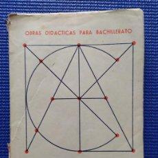 Libros de segunda mano: MATEMATICAS PRIMER CURSO REY PASTOR PUIG ADAM. Lote 212836405