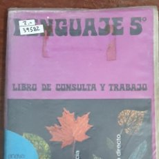 Livros em segunda mão: 39582 - LENGUAJE 5º - EGB - EDITORIAL ANAYA - AÑO 1972. Lote 213045701