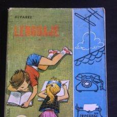 Libros de segunda mano: LIBRO LENGUAJE 4º CURSO - A. ÁLVAREZ - C. HERRERO - MIÑÓN 1969. Lote 213120842