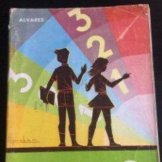 Libros de segunda mano: LIBRO MATEMATICAS 4º CURSO - A. ÁLVAREZ - C. HERRERO - MIÑÓN 1969. Lote 213121070