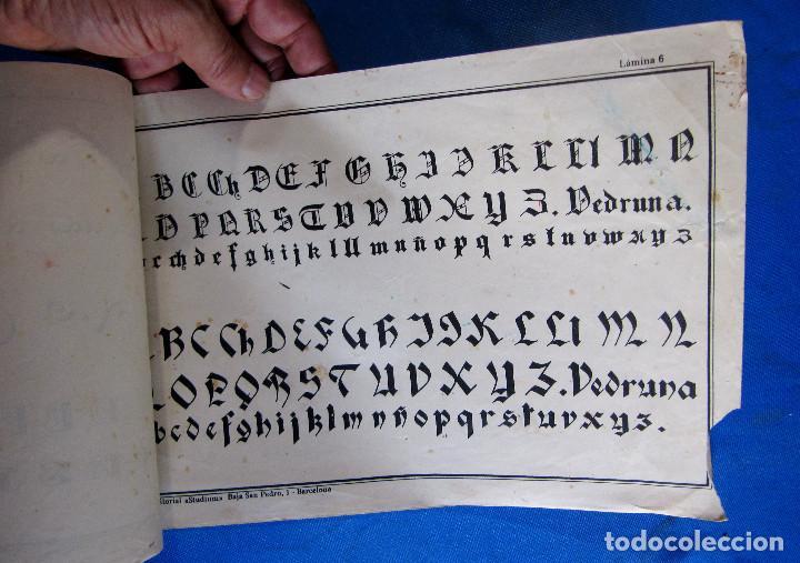 Libros de segunda mano: CALIGRAFÍA Y ROTULACIÓN. INSTITUTO DE HERMANAS CARMELITAS DE LA CARIDAD, S/F. - Foto 5 - 213142102