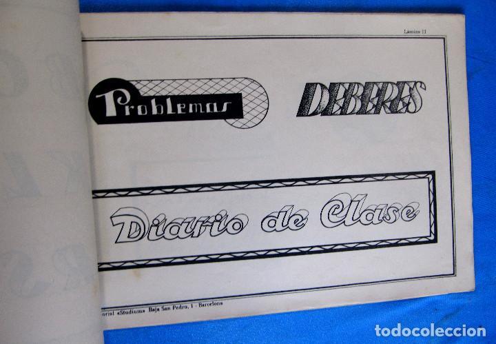 Libros de segunda mano: CALIGRAFÍA Y ROTULACIÓN. INSTITUTO DE HERMANAS CARMELITAS DE LA CARIDAD, S/F. - Foto 6 - 213142102