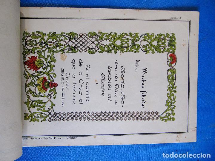Libros de segunda mano: CALIGRAFÍA Y ROTULACIÓN. INSTITUTO DE HERMANAS CARMELITAS DE LA CARIDAD, S/F. - Foto 8 - 213142102