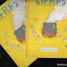 Libros de segunda mano: 2 CUADERNOS * CIFRAS * INICIACIÓN Nº 1 - 2 -AÑO 1969. Lote 269025469