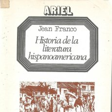 Libros de segunda mano: HISTORIA DE LA LITERATURA HISPANOAMERICANA. TOMO 7. Lote 213944338