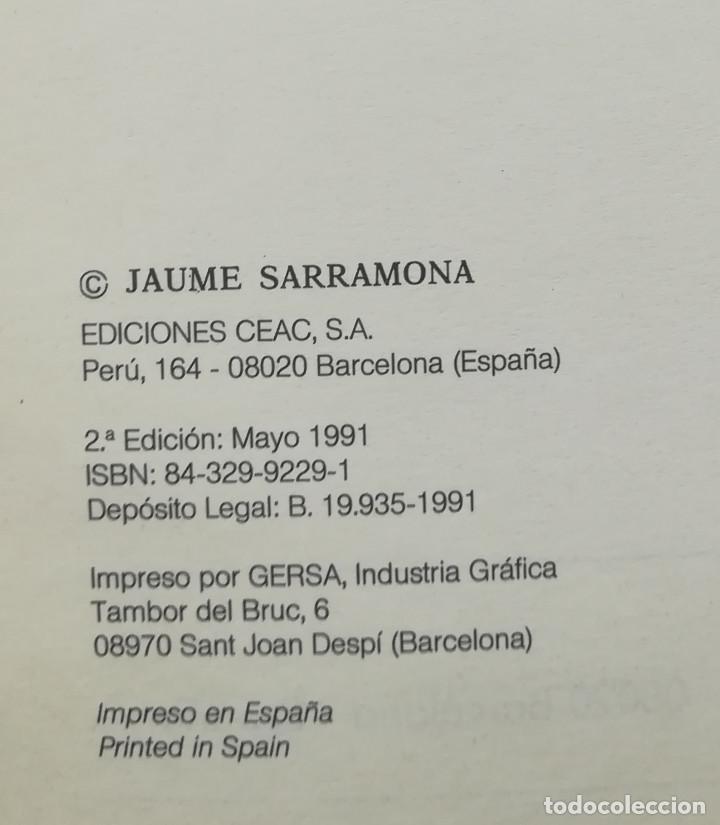 Libros de segunda mano: Fundamentos De Educación - Jaume Sarramona - Ceac - 2ª Ed. 1991 - Foto 3 - 213978843