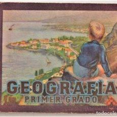 Libros de segunda mano: GEOGRAFÍA, PRIMER GRADO - EDITORIAL LUIS VIVES, ZARAGOZA. Lote 214024970