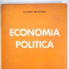 Libros de segunda mano: ECONOMÍA POLÍTICA, LEANDRO BENAVIDES 1968 ESTÁ PARA RECOGER EN MURCIA.. Lote 214597552