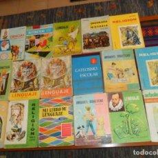 Libros de segunda mano: LOTE 17 LIBROS DE TEXTO AÑOS 60. MIÑÓN, ÁLVAREZ, SANTILLANA, HIJOS DE SANTIAGO RODRÍGUEZ.. Lote 214736873