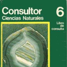 Livros em segunda mão: CONSULTOR CIENCIAS NATURALES 6 - LIBRO DE CONSULTA - SANTILLANA 1972. Lote 214783940