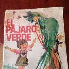 Livres d'occasion: EL PÁJARO VERDE - LIBRO DE LECTURAS - SM 1980. Lote 234031415