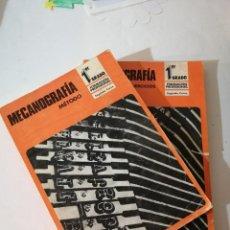 Libros de segunda mano: MECANOGRAFÍA. MÉTODO. FP 1-2.. Lote 215126637