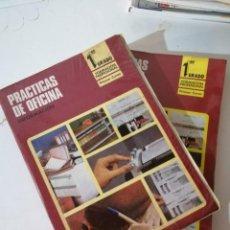 Libros de segunda mano: PRÁCTICAS DE OFICINA. FP1-1. INFORMACIÓN Y ACTIVIDADES.. Lote 215127397