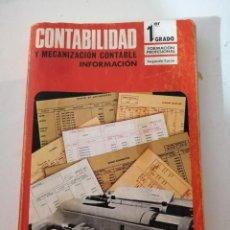 Libros de segunda mano: CONTABILIDAD Y MECANIZACIÓN CONTABLE. FP1-2. Lote 215128163