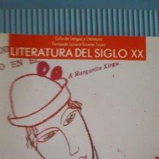 Libros de segunda mano: LITERATIRA DEL SIGLO XX - COU - ANAYA 1991. Lote 215378791