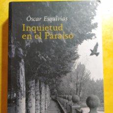Livres d'occasion: INQUIETUD EN EL PARAÍSO, ÓSCAR ESQUIVIAS, PYMY 8. Lote 216477132