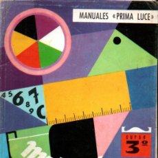 Libros de segunda mano: J. CORTAL VILANOVA . MATEMÁTICAS CURSO 3º (PRIMA LUCE, 1968). Lote 216570977