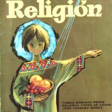 Libros de segunda mano: RELIGIÓN CURSO 3ª (PRIMA LUCE, 1969). Lote 216573443