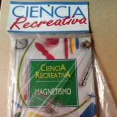 Libros de segunda mano: COLECCIÓN CIENCIA RECREATIVA N°8 EL MAGNETISMO PLANETA AGOSTINI. Lote 216890905