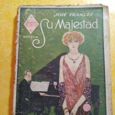Libros de segunda mano: MAJESTAD, JOSÉ FRANCÉS, PYMY 11. Lote 216923373