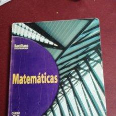 Livros em segunda mão: MATEMÁTICAS 4 SECUNDARIA. SANTILLANA.. Lote 216930838