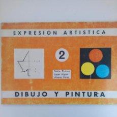 Libri di seconda mano: EXPRESIÓN ARTÍSTICA 2 - DIBUJO Y PINTURA - EDITORIAL MIÑÓN (SIN USAR). Lote 216971433