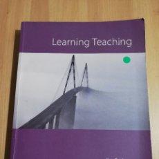 Libros de segunda mano: LEARNING TEACHING. A GUIDEBOOK FOR ENGLISH LANGUAGE TEACHERS (JIM SCRIVENER). Lote 217287628