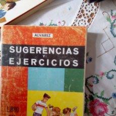 Libros de segunda mano: , SUGERENCIAS Y EJERCICIOS LIBRO DEL MAESTRO QUINTO CURSO EDITORIAL ÁLVAREZ. Lote 217599905