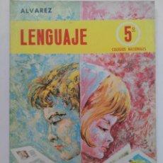 Libros de segunda mano: LENGUAJE ÁLVAREZ 5º CURSO - MIÑON S.A. (SIN USAR). Lote 218115212