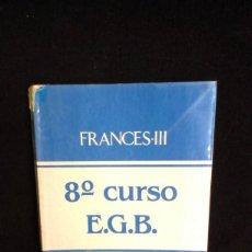 Libros de segunda mano: FRANCES EGB / EDITORIAL PERRIER - 8º EGB. Lote 218241230