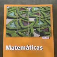 Libros de segunda mano: MATEMÁTICAS. PROYECTO ADARVE 2º ESO. EDITORIAL OXFORD EDUCACIÓN.. Lote 218366250
