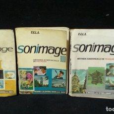 Libros de segunda mano: LOTE ANTIGUOS LIBROS FRANCES- SONIMAGE - 2 - 3 - 4 - ED.SM. Lote 218923978