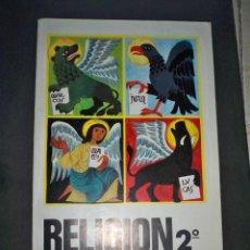 Libros de segunda mano: RELIGION 2 SEGUNDO CURSO MAGISTERIO ESPAÑOL 1966. Lote 218926373