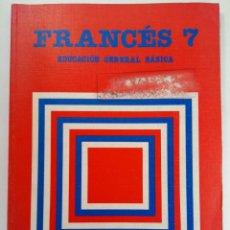 Libros de segunda mano: FRANCÉS 7 EDUCACIÓN GENERAL BÁSICA - SANTILLANA (SIN USAR). Lote 233129430
