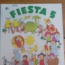 Livres d'occasion: 42741 - FIESTA 5 - EGB CICLO MEDIO - LECTURAS - EDITORIAL EDELVIVES - AÑO 1982. Lote 220073458