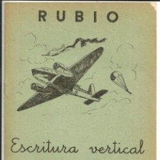 Libros de segunda mano: CUADERNO RUBIO - ESCRITURA VERTICAL Nº 3 - AÑO 1962 (SIN USAR). Lote 220101175