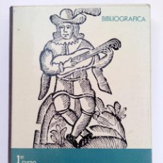 Libros de segunda mano: MÚSICA PRIMER CURSO DE BACHILLERATO - JOSÉ SUBIRA - COMPAÑÍA BIBLIOGRÁFICA ESPAÑOLA. Lote 220373021