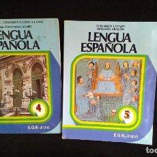 Libros de segunda mano: LIBRO EGB/LENGUA ESPAÑOLA 4 ANAYA. Lote 220599408