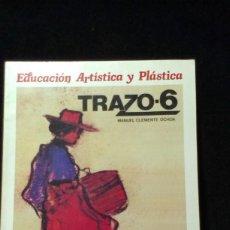 Libros de segunda mano: TRAZO- 6º E. G. B. (VICENS BASICA, 1984). Lote 220640096